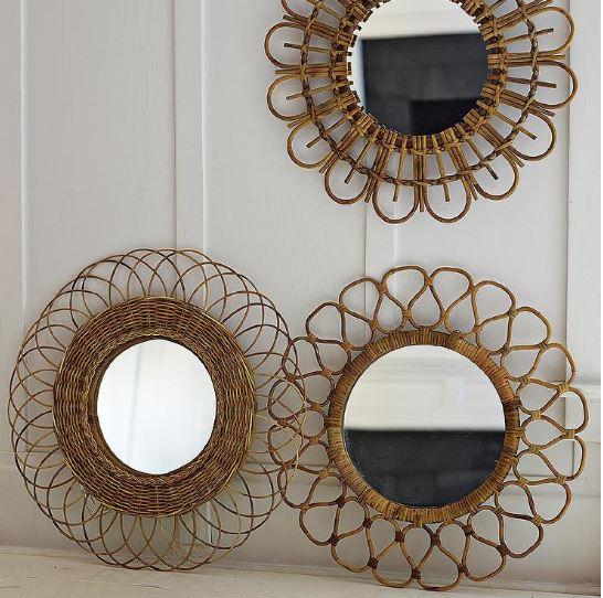 Espejos ibicencos para ideas de decoración ibicenca
