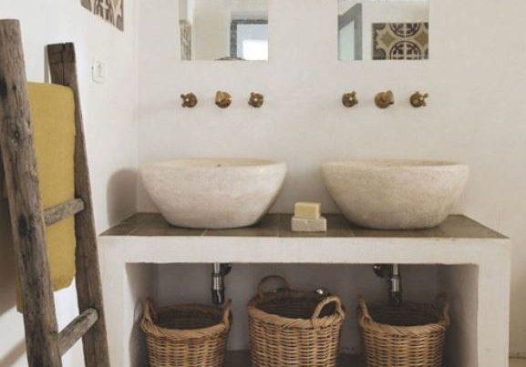 Accesorios de baño ibicenco