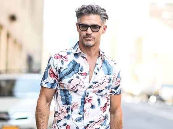 Camisas cortas Ibicencas hombre