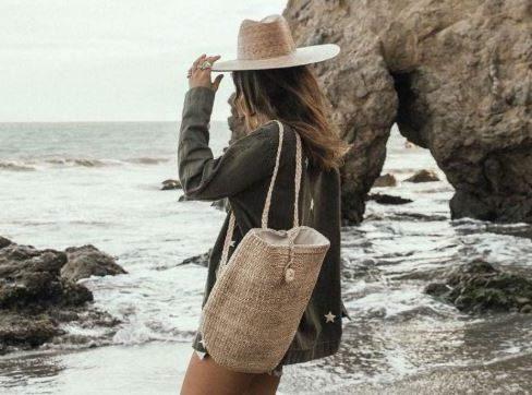 Capazos mujer playa