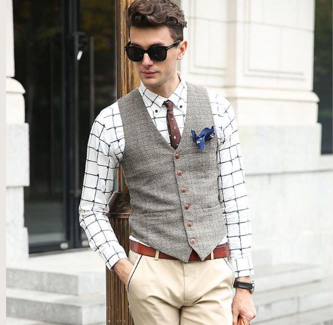 Chalecos de vestir para hombre