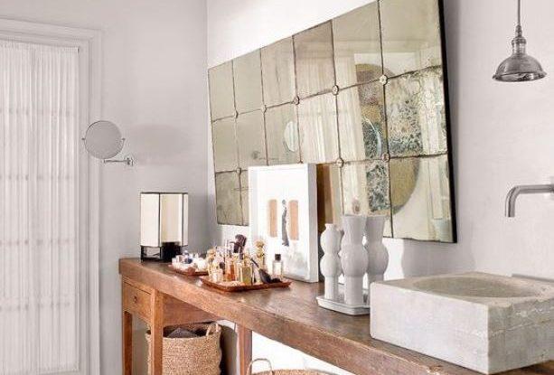 Espejos de baño ibicenco