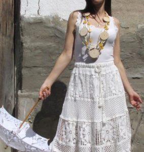 Faldas midi mujer ibicencas