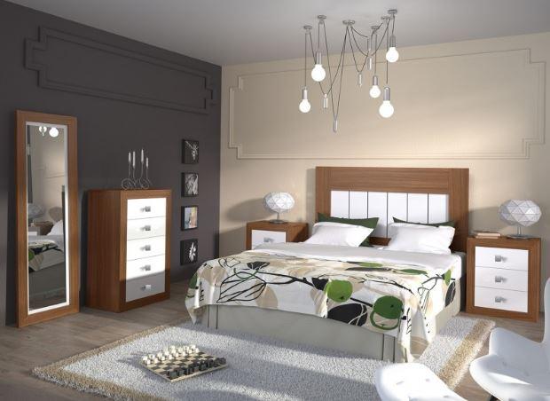 Lámparas de techo de dormitorio ibicenco