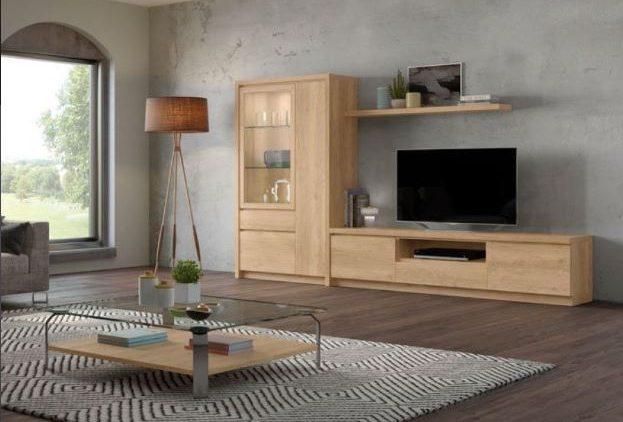 Mueble TV de salón ibicenco