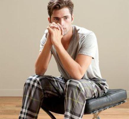 Pijama corto de hombre