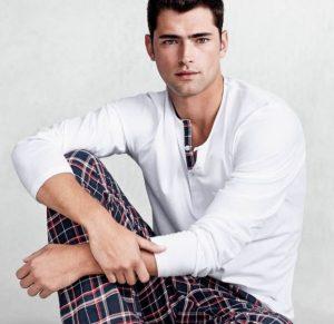 Pijama largo de hombre