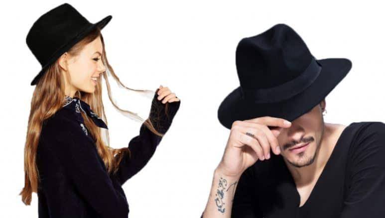 Sombreros de Fedora mujer