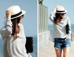 Sombreros mujer de panama