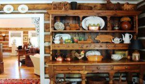 aparador de cocina rustico