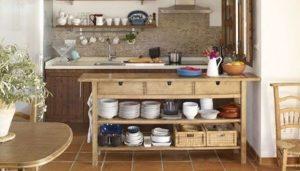 mueble auxiliar de cocina ibicenca