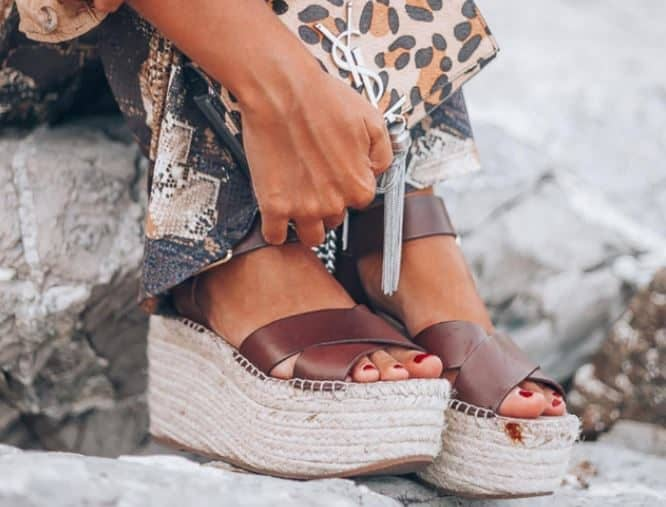 sandalias cruzadas mujer ibicencas