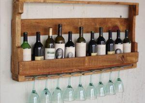 soporte de botellas de vino