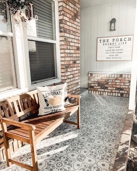 Archivos de mosaico - 15 elegantes porches delanteros