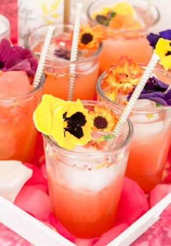 Cóctel Floral Berrylicious