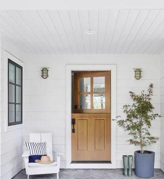 Esta la puerta - 15 elegantes porches delanteros